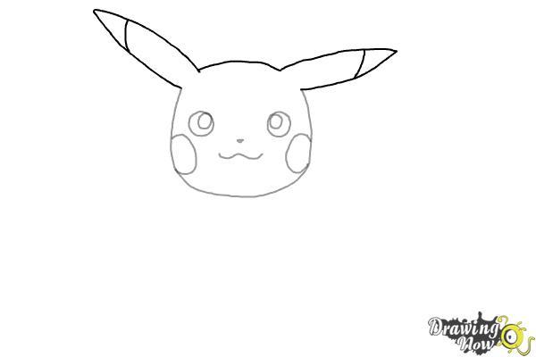 How to Draw Pikachu - Step 4