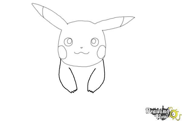 How to Draw Pikachu - Step 5