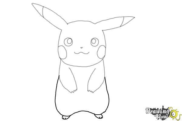 How to Draw Pikachu - Step 6