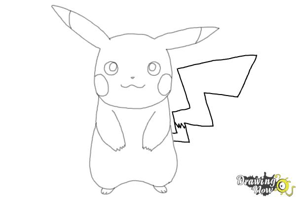 How to draw pikachu drawingnow how to draw pikachu step 7 thecheapjerseys Image collections