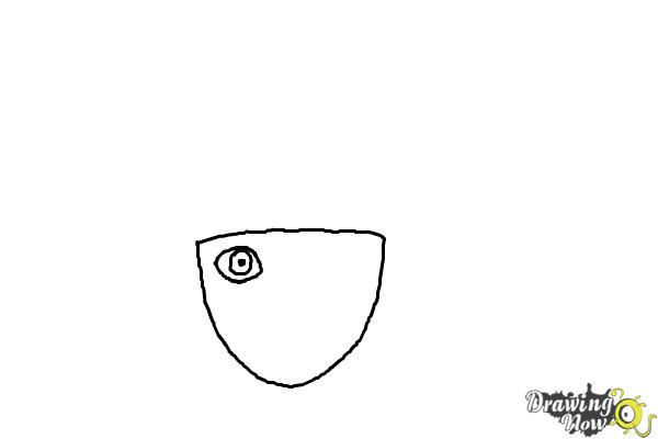 How to Draw Naruto - Step 1