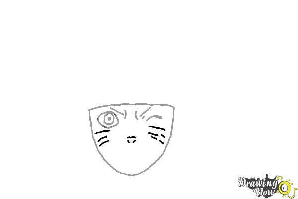 How to Draw Naruto - Step 3