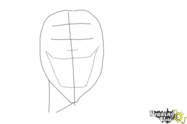 How to Draw an Evil Anime Character - Step 3