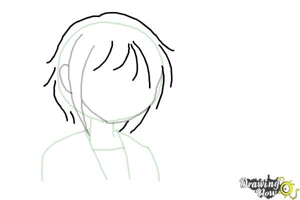 How to Draw Anime - Step 5