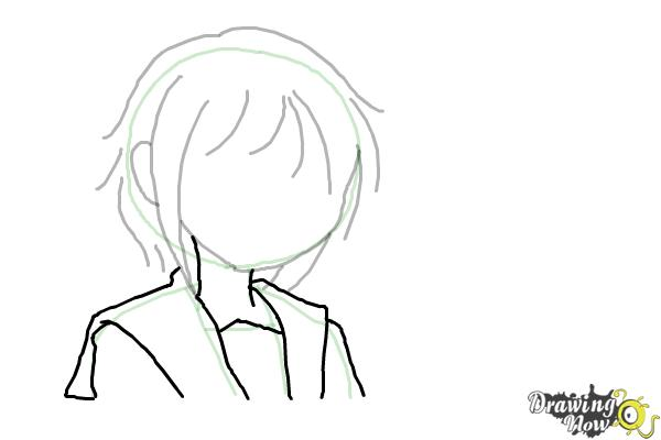 How to Draw Anime - Step 6