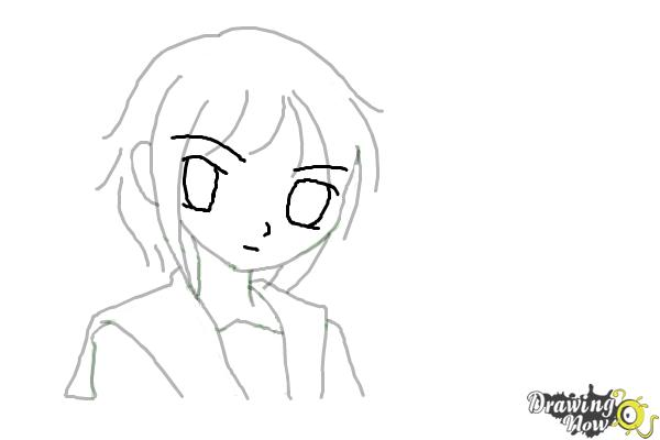 How to Draw Anime - Step 7