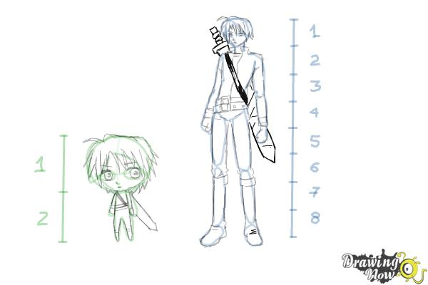 How To Draw Anime Body Figures Drawingnow