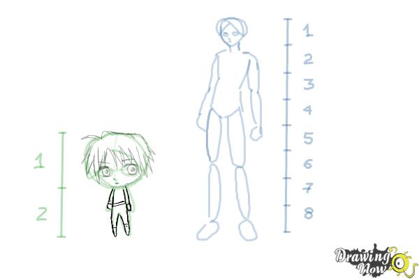 How to Draw Anime Body Figures - Step 9