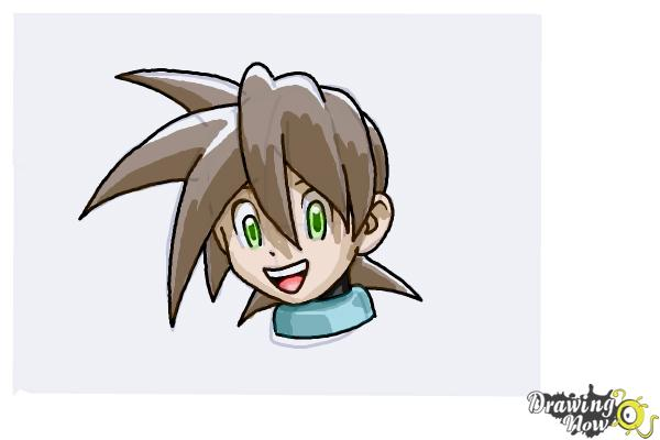How to Draw Anime Hair - Step 8