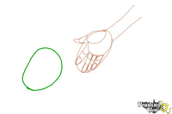 How to Draw Anime Hands - Step 5