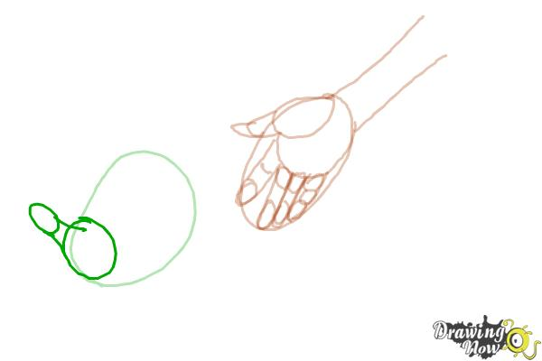 How to Draw Anime Hands - Step 6