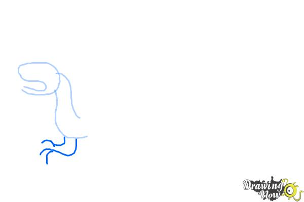 How to Draw a Chinese Dragon Body - Step 3